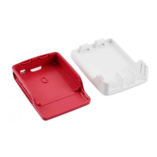 Raspberry Pi 4  Red and White Case