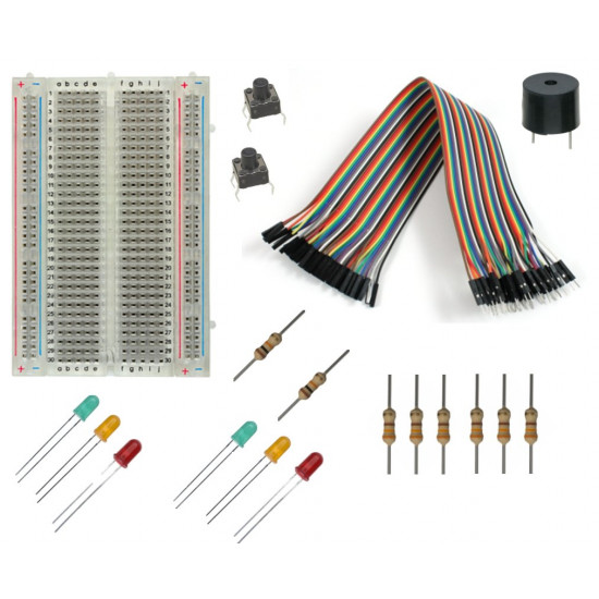 Raspberry Pi GPIO Basic Starter Kit