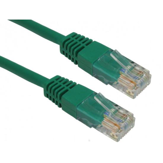 RJ45 Cat5e Ethernet LAN Cable Green